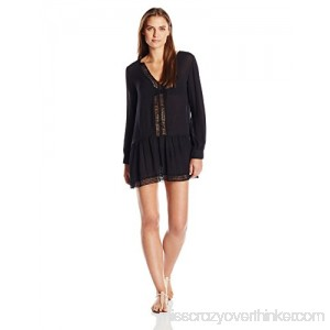 Athena Women's Cabana Essentials Willow Tunic Swimsuit Cover Up Cabana Essentials Black B07DW75KNK