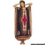 Back From Bali Womens Long Maxi Swimsuit Beach Sequin Cover up African Caftan Black B06WP77NGW