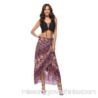 Barelove Long Skirt Summer Beach Hawaiian Boho Long Skirt for Women B07BRVQKZ1