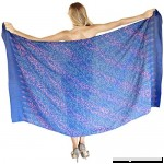 "LA LEELA Sarong Bathing Suit Pareo Wrap Bikini Cover ups Womens Skirt Swimsuit Swimwear 78""X43"" B07P3P2HDK"