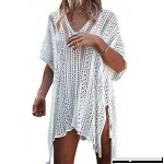 Tkiames Women's Bathing Suit Beach Bikini Swimsuit Swimwear Cover Up Crochet Dress One Size B07B66H861