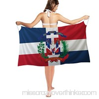 activeaction Flag Swimwear Cover up Swimwear Bikini Beach Dress Dominican Republic Flag B07F82D64Y