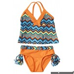 Big Chill Little Girls UV Protection Tankini Summer Swimwear Two Piece Swimsuit 4 B07GJXCPCJ