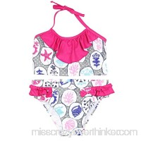 Deux par Deux Girls' Printed Tankini Coast to Coast Sizes 4-12 B06WVV9PMT