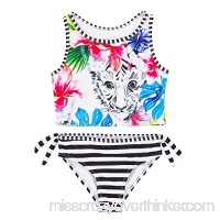 Deux par Deux Girls' Tankini Playa Del Mar Sizes 4-12 7 B07BNXFHWT