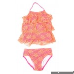 Kensie Girl 2 Piece Crochet Tankini Swimsuit Set for Girls 6 B073X52MZ9