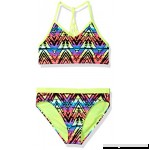 Angel Beach Big Girls Swim Electrica Rainbow Bikini Set Big Girls B01M9GW3BM