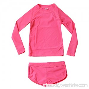 Baby Toddler Girls Swimware Sling Top+Short Pant Two Pcs Swimsuit Summer Tankini Outfits Pure Pink B07QF4TYLN