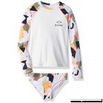 Billabong Girls' Shaka Daze Long Sleeve Rashguard Set Multi B077ZQYYBM