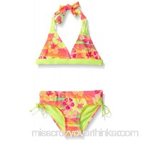 Breaking Waves Girls' Sunset Tropic Bikini Swimsuit Little Girls B01AWH0F14