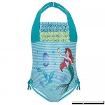 Disney Store Ariel The Little Mermaid 1Pc Ruffled Swimsuit XS 4 4T  B00MK5G3JA