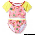 Jantzen Little Girls Chiquita Fruit Print Rashgaurd Set Fruit Flower Print B075MGJN8N