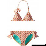 Roxy Big Girls' Catching Tiki Tri Set Big Girls B00UJEY6JI
