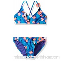 Roxy Girls' Little Tropics Athletic Set Two Piece Swimsuit Little Girls B01NCMX53G