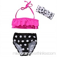 private-space-Aurelie Swimsuits Baby Girl Swimsuit Polka Dots Bikini Set Kids Girls Bathing Suit Swimwear Swimming Multi B07QCJYB6D