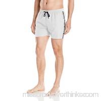 BJÖRN Borg Men's Solid Logo Swim Trunk White B01MZ7ZSHJ