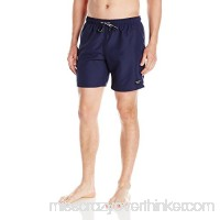 BJÖRN Borg Men's Solid Swim Trunk Peacoat B01MR47LVE