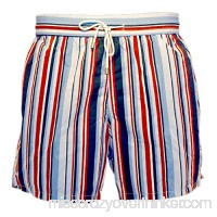 Bayahibe Men's Swimwear Shorts Quick Dry French Handmade Printed Swim Trunk Navy B07CKW93LC