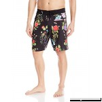 Bench Men's Floral Print Swim Trunk Black Beauty B01N30L0UF