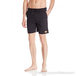 Brixton Men's Havana Drawstring Trunks Black B00VJPRYSQ