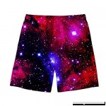 HUGS IDEA Men's Galaxy Swim Trunks Quick Dry Sommer Surf Beach Board Shorts Galaxy 2 B07N83WQX2