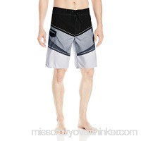 Billabong Men's Slice Supreme Suede Boardshort with Cargo Pocket Black B01KWFLXCQ