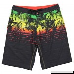 Burnside Men's Endless Quick Dry Stretch Beach Boardshort Black One Love B079P3F7X6