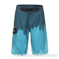 Hopgo Men's Swim Trunks 22 Boardshort Beach Shorts Swimwear Shorts Blue Ombra B071GSYBBH
