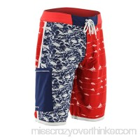 Huk Kscott Flag Boardshort Color Red H2000019red Red B071CGQ1X5
