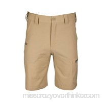 Huk Men's Next Level 10.5 Short Khaki 3X-Large B01ECX1R1G
