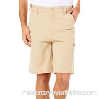 Huk Men's Next Level 10.5 Short Khaki Small B01ECX1KB8