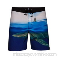 Hurley AO9240 Men's Phantom Clark Week 18 Board Short Photo Blue B07BG9SQBK