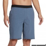Hurley Alpha Trainer Solid 20.5in Men's Short Obsidian Heather B07QG7B5GR