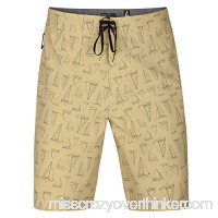 Hurley MBS0007700 Men's Phantom JJF Maritime Board Short Buff Gold B0778FFXSW