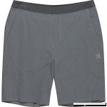 Hurley Men's Alpha Trainer Solid 20.5 Walkshort Dark Grey Heather L  B073V47D75