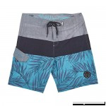 Maui and Sons Mens Pismo 4-Way Stretch Boardshort Grey B07FQQLKPV