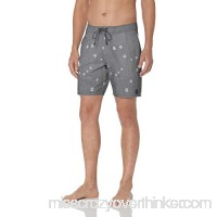 RVCA Men's Aster Trunk Black B07B9QXB7D