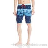 RVCA Men's Chopped Trunk Federal Blue B01MTNL3ON