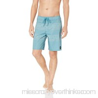 RVCA Men's Double Vision Trunk Cascade Blue B07DKYXTLC