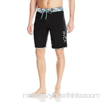 RVCA Men's Eastern Boardshort Trunk Blue Slate B01N19YJJF