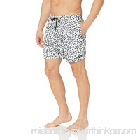 RVCA Men's Gerrard Dots Trunk White B07DKWT5SX