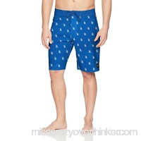 RVCA Men's Saunders Trunk Royal B0721MZKQH