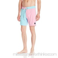 Rusty Men's Solitary Boardshort Bright Blue B0193NQFRG
