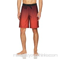 Speedo Men's Static Blend Boardshort 20 Bottom Atomic Red B076F473BR