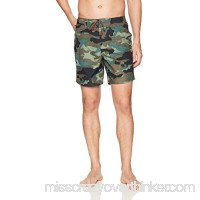 Sundek Men's Classic 17 Fixed Waist Swim Short Camouflage B07P4JHN9X