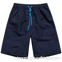 Sunshine Code Men's Quick Dry Board Shorts Bathing Suits Swimming Trunks Beach Pants No Mesh Liner Navy B00VCLV4OW