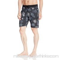 Volcom Men's Monsta Bud 19 Boardshort Black B06VS9MXLL