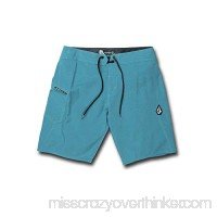 Volcom Men's Solid Mod Stretch 20 Boardshort Chlorine B07HP4NJ9M