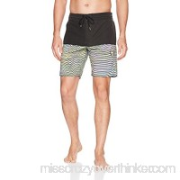 Volcom Men's Vibes Half Stoney 18 Boardshort Multi B078VCSBLJ