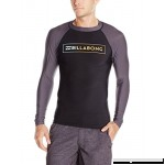 Billabong Men's All Day Raglan Regualr Fit Long Sleeve Rashguard Black All Day Raglan B01ELHQYO8